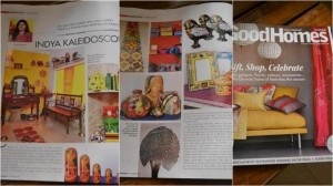 Preethi Prabhu featured on BBC Good Homes