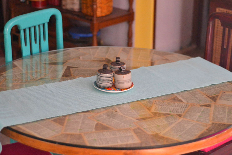 Day 2 -DIY Decoupaged Table