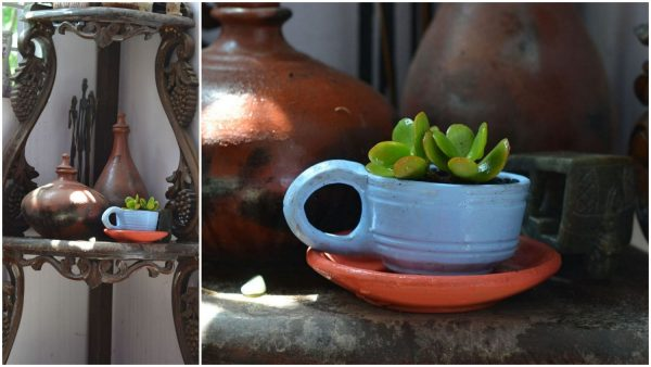 DIY Painted Terracotta