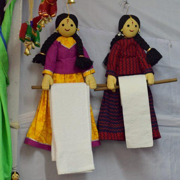 Kannamma Holder by Shivanjali Creative Arts & Crafts