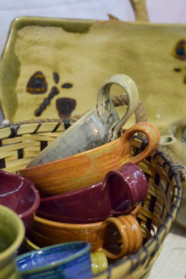 Handmade ceramic cups