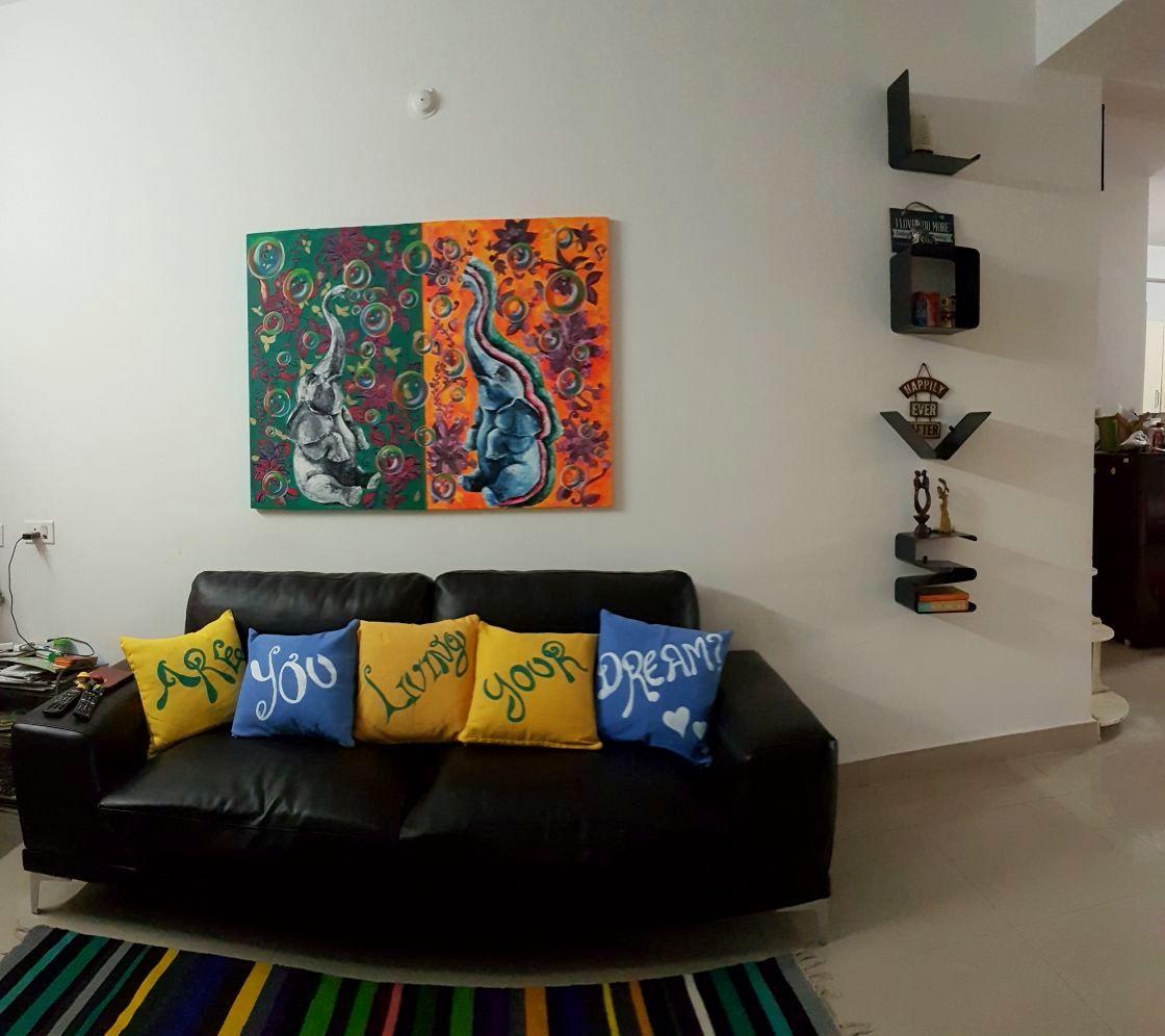 Will Work For Food – Girijas Living Room Part 1